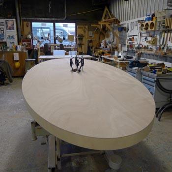 ovale tafel 350x ?