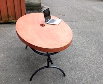 ovale tafel 350x
